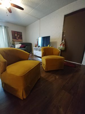 Gold modern chairs for Sale in Bolingbrook, IL