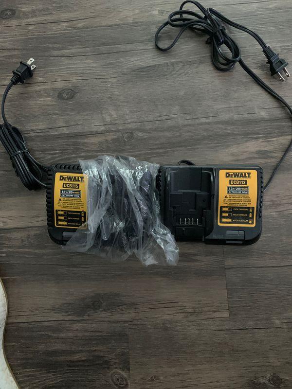 20v dewalt chargers