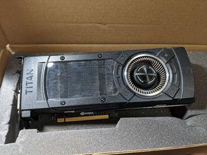 Nvidia Titan X for Sale in Renton, WA