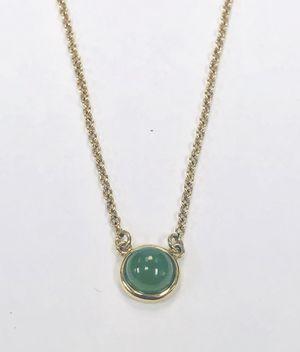 "Authentic Tiffany & Co ELSA PERETTI Cabochon 18K Gold Pendant. Size 16"" - Weight 2.4g for Sale in Miami, FL"