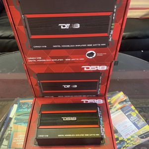 Ds 18 Car Audio . Car Stereo Amplifier . Super Class D 1800 Watts . With Remote Bass Knob . New Years Super Sale $129 While They Last . New for Sale in Gilbert, AZ