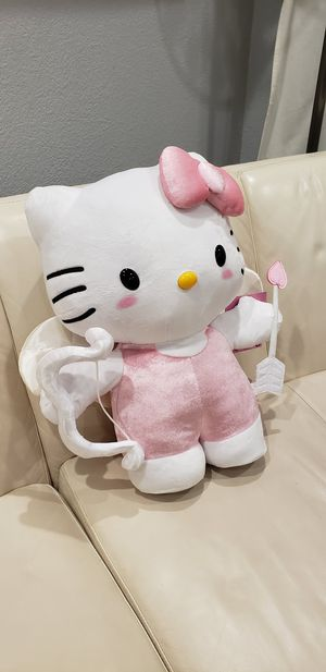 """Big Hello Kitty Sanrio Valentine's day love cupid angel 19"""" tall cute plush stuffed animal brand new with tags. Great Valentine's day gift for Sale in Ontario, CA"""