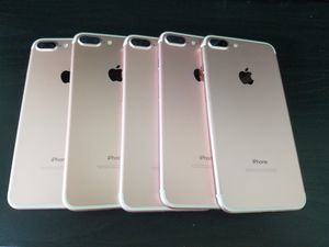 iPhone 7 Plus 128GB wholesale lot of 5 Great Condition unlocked for Sale in North Miami Beach, FL