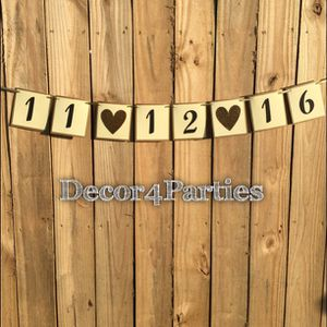 Wedding date banner for Sale in Doral, FL