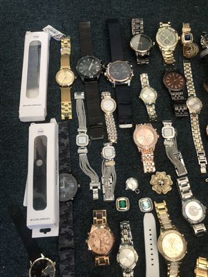 Lot of 39 watches need repair or can be used for parts for Sale in Gardena, CA