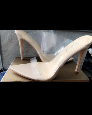 Clear heels for Sale in Brooklyn, NY