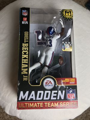 NY Giants Madden NFL 19 action figure collection for Sale in San Diego, CA