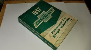 1957 Chevrolet Passenger Car Shop Manual for Sale in San Francisco, CA