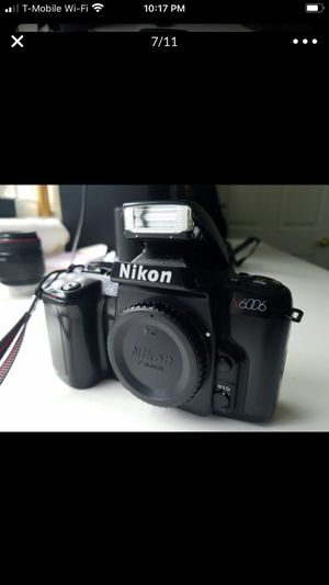 Film Photo Camera NIKON n6006!!! for Sale in Fort Lauderdale, FL