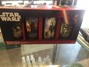 Star Wars set of 4 glasses . Collectibles for Sale in Brooklyn, NY