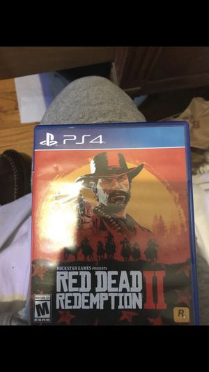 Red Dead Redemption 2 ps4 for Sale in Grosse Pointe, MI