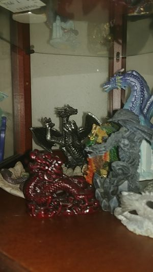 Collection of dragon statues for Sale in Newberg, OR