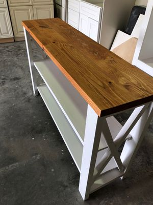 Custom furniture , hall tree, coffee tables, TV stand kitchen cabinets we make it all. Send a massage to place your order for Sale in Humble, TX