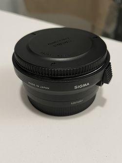 Sigma MC 11 Converter For Adapting Canon EF for Sale in Burbank,  CA