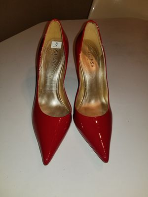 Guess red patent leather heels - sz 8 for Sale in Murfreesboro, TN