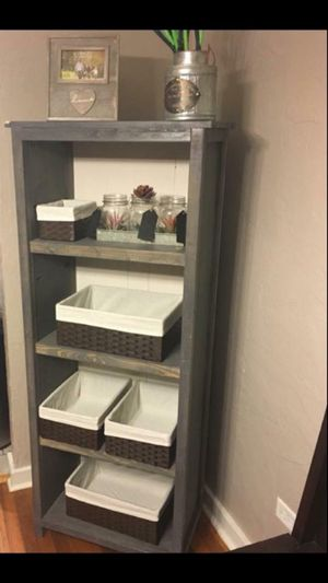 Farmhouse style bookshelf for Sale in Pittsburgh, PA