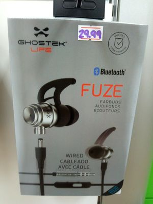 Ghostek fuse wired Bluetooth headphones for Sale in St. Louis, MO