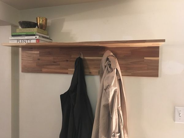 san francisco 098d6 f0186 Nearly new IKEA SKOGSTA wall shelf (see photo for dimensions) for Sale in  Seattle, WA - OfferUp