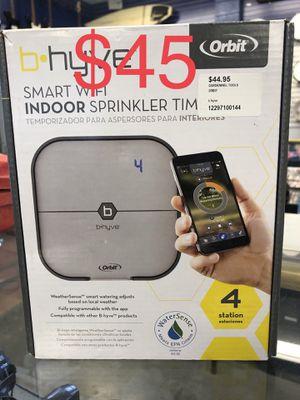 B hyve smart WiFi indoor sprinkler timer for Sale in Whittier, CA