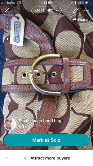 Coach small hand bag for Sale in Kingsport, TN