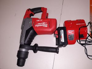 Milwaukee sds rotary hammer drill for Sale in San Antonio, TX