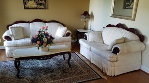 Beautiful Cream Foral Sofa set for Sale in Olney, MD