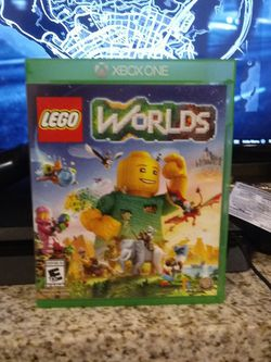 Lego worlds Xbox one game for Sale in Riverside,  CA