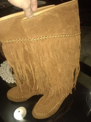Women's fringe boots size 7 for Sale in Bossier City, LA