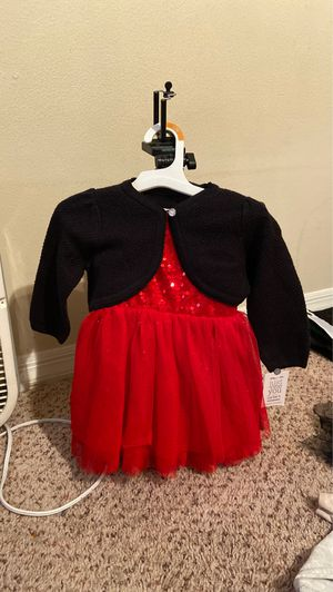 Christmas dress with cardigan for Sale in St. Cloud, FL