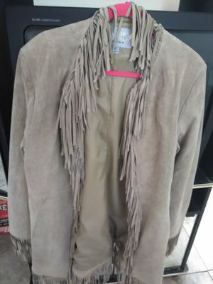 $20: Wilson Suede Leather fringed jacket: Size L: CLEARANCE $20 for Sale in Lake Worth, FL