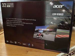 Acer 32-in Curved Gaming Monitor (1 ms, 165 Hz) for Sale in Oakbrook Terrace, IL
