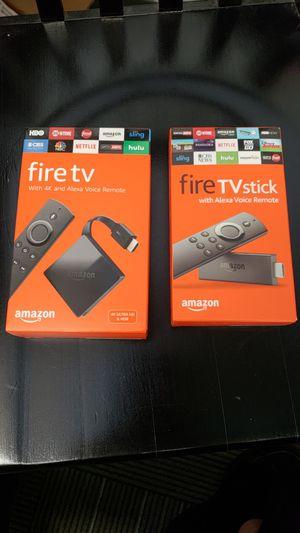 Amazon Fire TV*SALE*J*B* for Sale in Dallas, TX