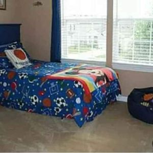 Sports Theme TWIN Bedding Set for Sale in Fortville, IN