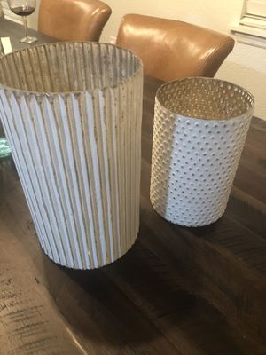 Glass vase from West Elm for Sale in Orlando, FL