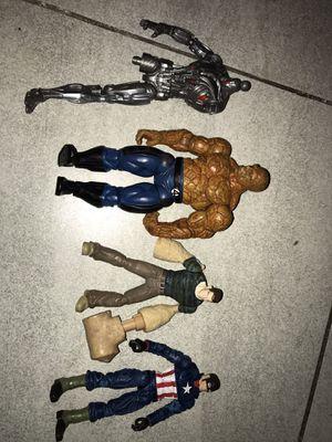 Marvel legends baf ultron captain america lot for Sale in Chandler, AZ
