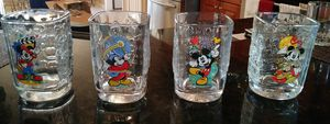 4 Park Disney Glass Collection for Sale in Orlando, FL