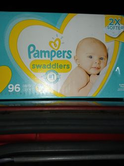 """Box Of """"1"""" Diapers 8-14 Pounds 96count for Sale in Happy Valley, OR"""