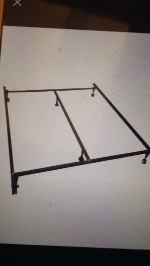 Metal Bed Frame Rail for Sale in Rancho Palos Verdes, CA