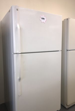 GE almond color refrigerator for sale ! - free delivery for Sale in Las Vegas, NV
