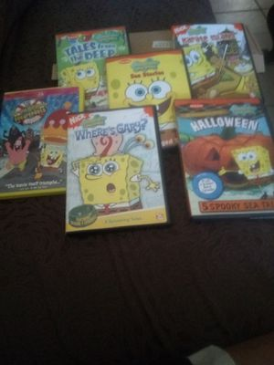 6 Sponge Bob Square Pants DVD's for Sale in Phoenix, AZ