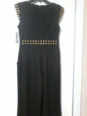 Shelby&Palmer Elegant black and gold jumper dress size 6 for Sale in Plantation, FL