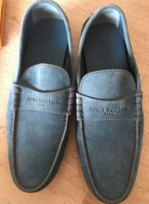 ( Great Deal ) Authentic Louis Vuitton Suede loafers for Sale in Bedford Heights, OH