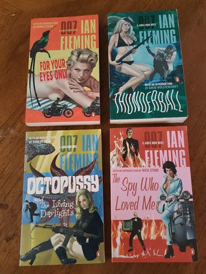 James Bond Books By Ian Fleming for Sale in Clearwater, FL