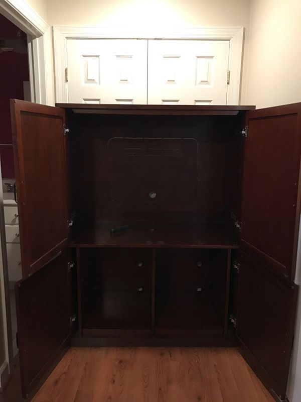 TV cabinet and rocking chair