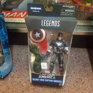 Marvel Legends Captain America Civil War Wave 3Secret Wars Captain America for Sale in Leander, TX