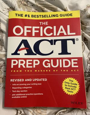 The Official ACT Prep Guide, 2018 for Sale in Silver Spring, MD