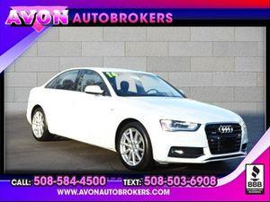 2014 Audi A4 for Sale in Avon, MA