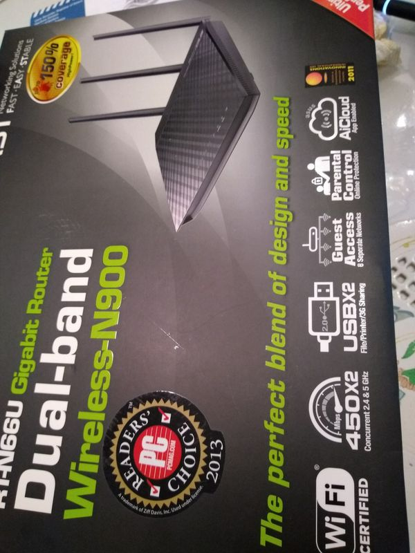 ASUS RTN66U DUAL BAND ROUTER