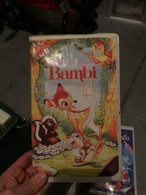 Bambi vhs for Sale in Las Vegas, NV