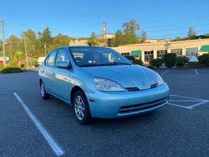2001 Toyota Prius Hybrid Silver for Sale in Tacoma, WA